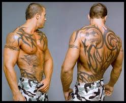 tribal stomach tattoo pictures for men design idea for men and women
