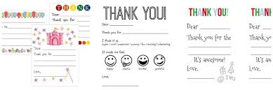 kids thank you cards do you or don t you kids thank you cards plus some free