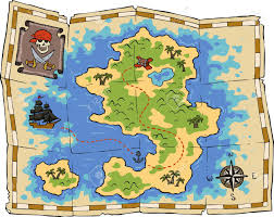 Treasure Map Blank by Real Treasure Maps Found Clipart Animals Cliparts With