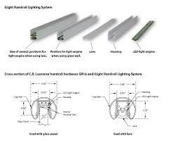 handrail lighting system ilight technologies