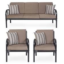 Best Sofa Sets Online Shopping India Furniturekraft Metal 3 1 1 Sofa Set Grey Buy Furniturekraft