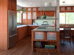 Kitchen Cabinet Modern Design Rustic Cherry Cabinets Zen Asian Themed Kitchen Contemporary