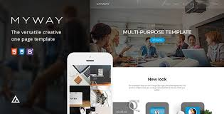 bootstrap themes free parallax myway onepage bootstrap parallax retina template by awerest