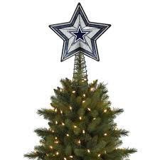 dallas cowboys christmas lights dallas cowboys star treetopper