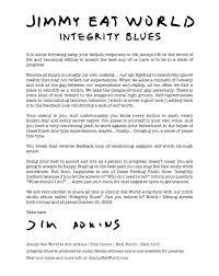 Jesus The Light Of The World Lyrics Jimmy Eat World Integrity Blues Album Review Pitchfork
