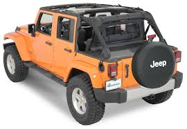 orange jeep rubicon quadratop 13837 35 clearview windstopper in black diamond for 07
