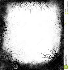 halloween frame png black grunge frame royalty free stock photos image 19227288