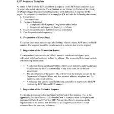 rfp cover letter sle rfp response cover letter sle trend sle cover letter for