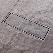 2017 tile insert invisible two sided floor waste grates bathroom