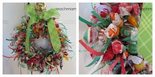 candy wreath how to make a candy wreath