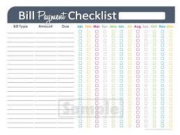 Monthly Bill Spreadsheet Household Budget Spreadsheet Printable Spreadsheets