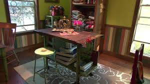 Sewing Room Wall Decor Organized Craft Room Ideas Hgtv