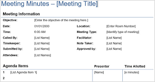 meeting minutes templates 12 best meeting minutes templates for professionals