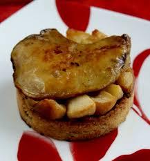 cuisiner du foie gras recette foie gras sur crumble d épices et lit de pommes 750g