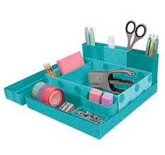 Origami Desk Organizer Turquoise Storage Decor By Color