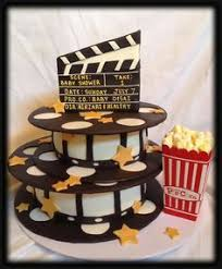 movie reel cake cakes and cupcakes for kids birthday party