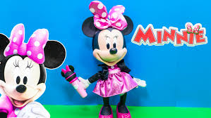 minnie mouse disney minnie mouse singing popstar minnie mouse