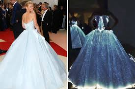 zac posen light up gown met gala 2016 claire danes s glow in the dark gown upstaged a red