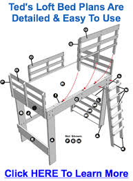 Loft Bed Plans Free Dorm by Loft Bed Plans Dressing My Space Pinterest Loft Bed Plans