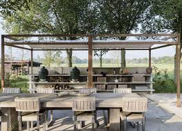 Outdoor Kitchen Furniture Steal This Look The Ultimate Outdoor Kitchen Gardenista