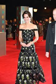 kate middleton diamond earrings bafta carpet kate middleton in mcqueen dress