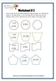 addition addition worksheets grade 4 free math worksheets for