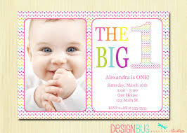 1st birthday card invitations gallery invitation design ideas