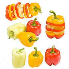 collection of colored paprika u2014 stock photo grafvision 11127342
