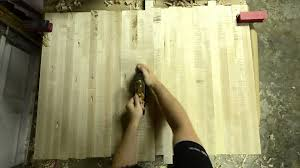 rough planing a butcher block table youtube