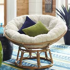 patio furniture replacement cushion papasan cushion fuzzy sand