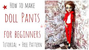 doll pants trousers monster pants easy