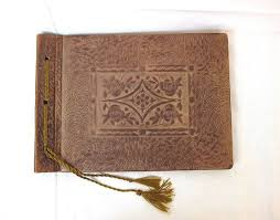 vintage leather photo album best 25 leather photo albums ideas on picture albums