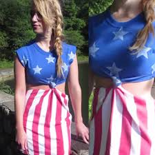 Flag Dress Diy American Flag Dress Or Beach Cover Up U2013 Alexa Katherine