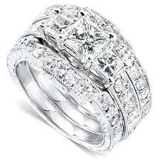 white gold wedding sets 14k white gold wedding ring sets 14k white gold diamond wedding
