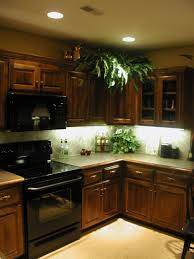 Kitchen Cabinet Lighting Pretty Led Lights Under Kitchen Cabinets Featuring White
