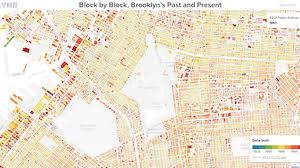 Williamsburg Brooklyn Map This Map Shows You The Age Of Every Building In Brooklyn Curbed Ny
