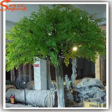 new design to dubai fresh foliage large outdoor artificial trees
