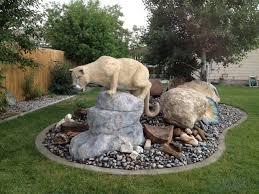 mountain lion statue julie s mountain lion sculpture ultimate paper mache