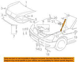 lexus trunk struts lexus toyota oem 01 06 ls430 hood lift support strut shock prop