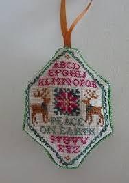 cross stitch xs hark ornament just cross stitch