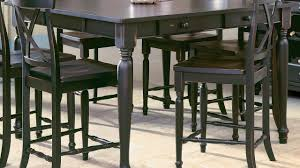 bar height dining table with leaf bar height dining table youtube