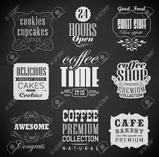 menu design of cafe bakery labels and typography coffee shop cafe menu design