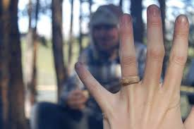 make engagement rings images The wooden engagement ring rock n roll bride jpg