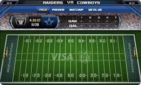 nfl gameday resources 2013 2014 dallas cowboys vs oakland