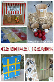 25 simple carnival games for kids