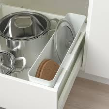 ikea kitchen cupboard storage boxes variera storage box high gloss white 19 5 8x4 3 4