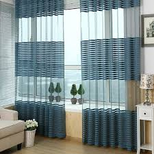 Bedroom Curtains Blue Breathable Livingroom Bedroom Balcony Curtains Blue Lazada Malaysia