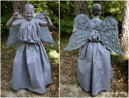 Angel Halloween Costume Kids Costume Diy Weeping Angel 2