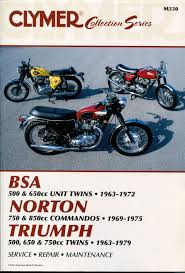triumph t100 t120 t140 tr6 tr7 service repair manual 1963 1979