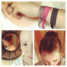 goody s hair wearing goody ouchless hair ribbon elastics the fashionable
